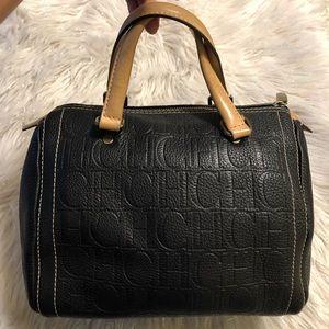 ❗️SOLD❗️CAROLINA HERRERA CH Embossed Bag